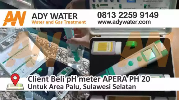 jual ph meter air