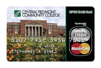 cpcc debit card