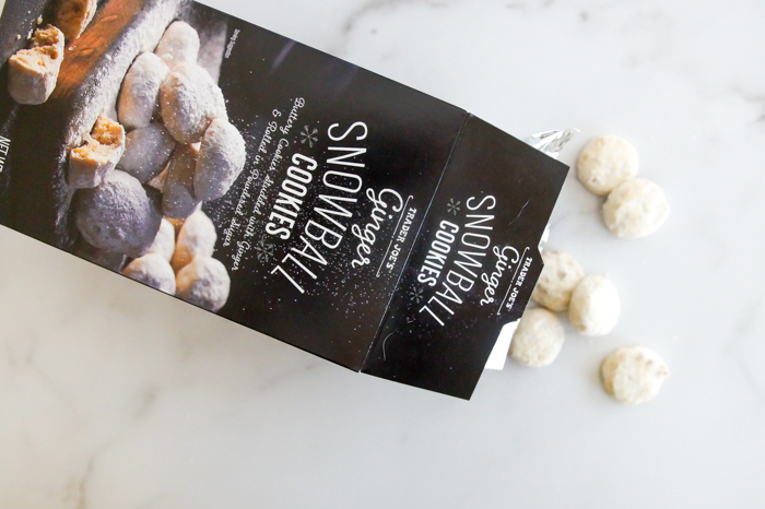 Trader Joe's review: Ginger Snowball Cookies   a weekly he said/she said review series from Bake at 350