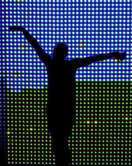 Joyful, Silhouette, Rose Kennedy Greenway, Boston, Massachusetts
