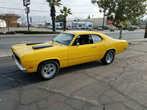 1970 Plymouth Duster 340 Engine