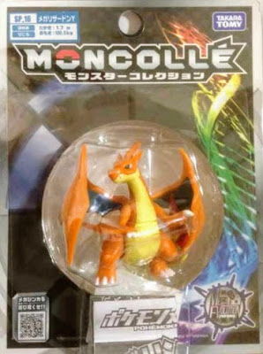 Mega Charizard Y figure Takara Tomy Monster Collection MONCOLLE SP series