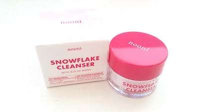 Sample Saturday: Nooni Snowflake Cleanser