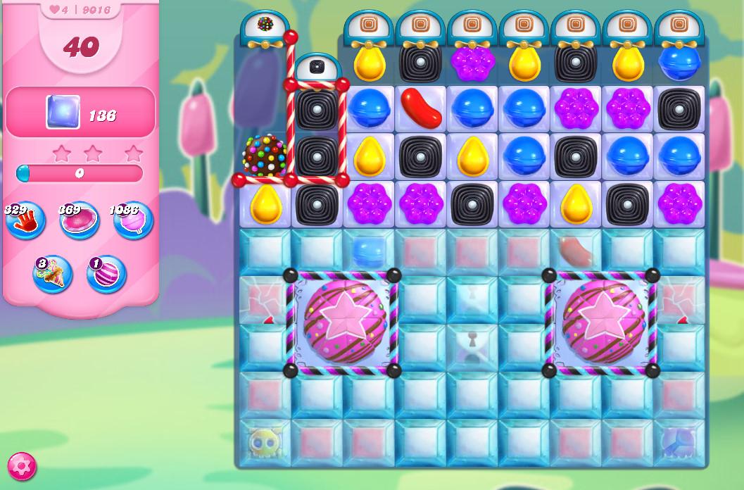 Candy Crush Saga level 9016