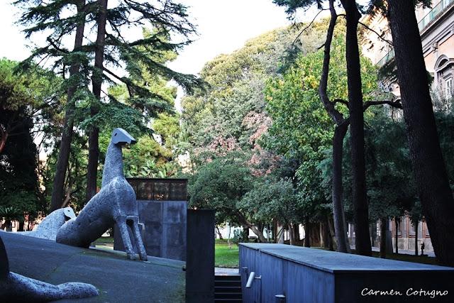 Giardini del Palazzo Reale di Napoli