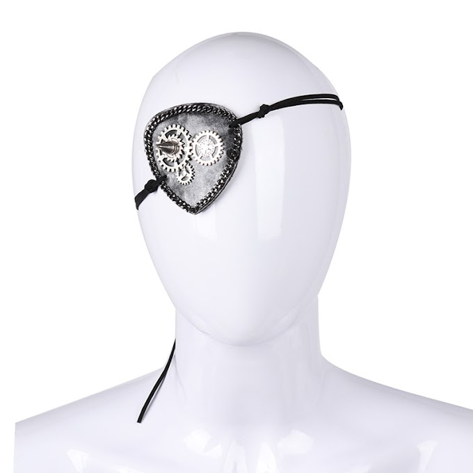 Steampunk Inspired Gear Eye Patch