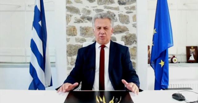 Ευχές για την Πρωτοχρονιά από τον Δήμαρχο Ερμιονίδας Γιάννη Γεωργόπουλο