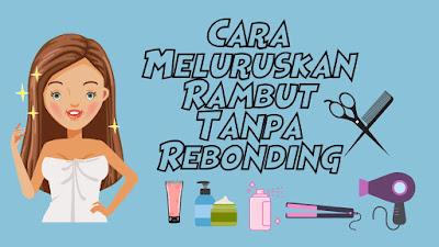 Rambut Lurus Tanpa rebonding