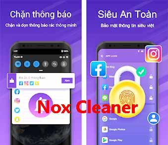Tải Nox Cleaner - Ứng dụng dọn dẹp rác, tăng tốc điện thoại Android c