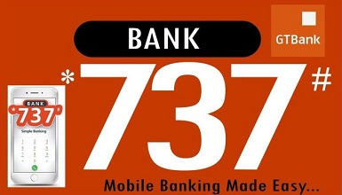 See How to Lock Your GTbank Account Instantly Using *737*