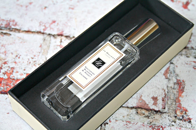 Jo Malone London Nectarine Blossom and Honey Cologne.