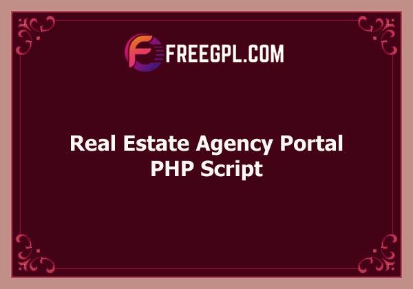 Real Estate Agency Portal v1.6.9 Free Download