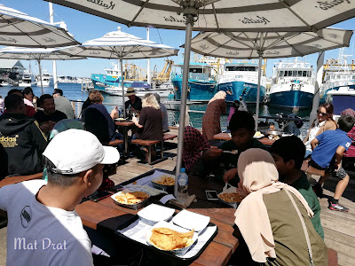 Kailis Cafe best Fish n Chip in Fremantle Perth
