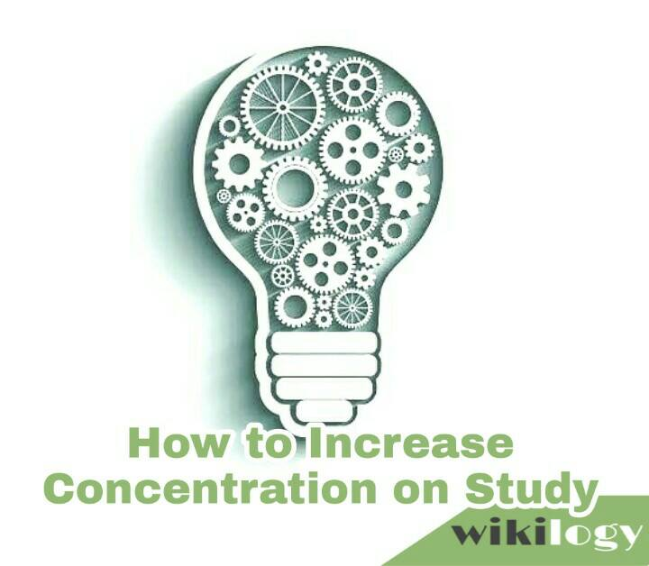 how to increase concentration in studies