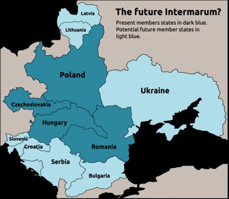 Résultats de recherche d'images pour «Intermarum poland map»