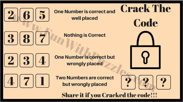 Crack the code riddle