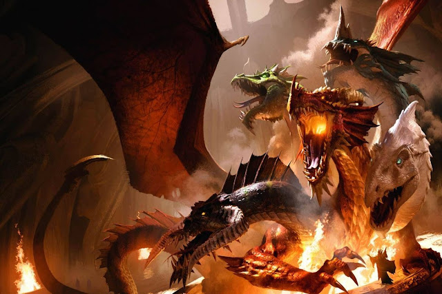 Los Dragones en Dungeons & Dragons - Tiamat