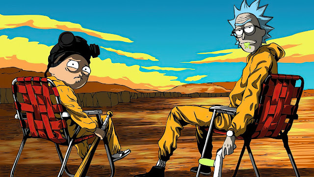 Rick And Morty No Deserto