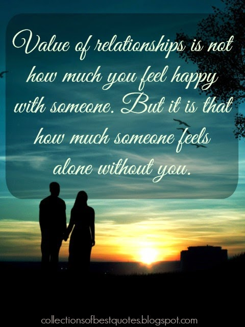 value our relationship quotes