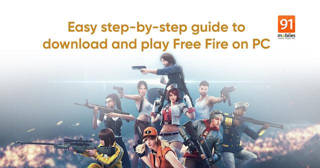 تحميل لعبة غارينا فري فاير مهكرة 2021 Garena free fire apk التحديث الجديد للكمبيوتر وللموبايل