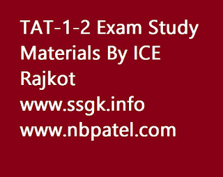 TAT-1-2 Exam Study Materials By ICE Rajkot