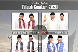 Contoh Spanduk pilkada Sumatera Barat 2020