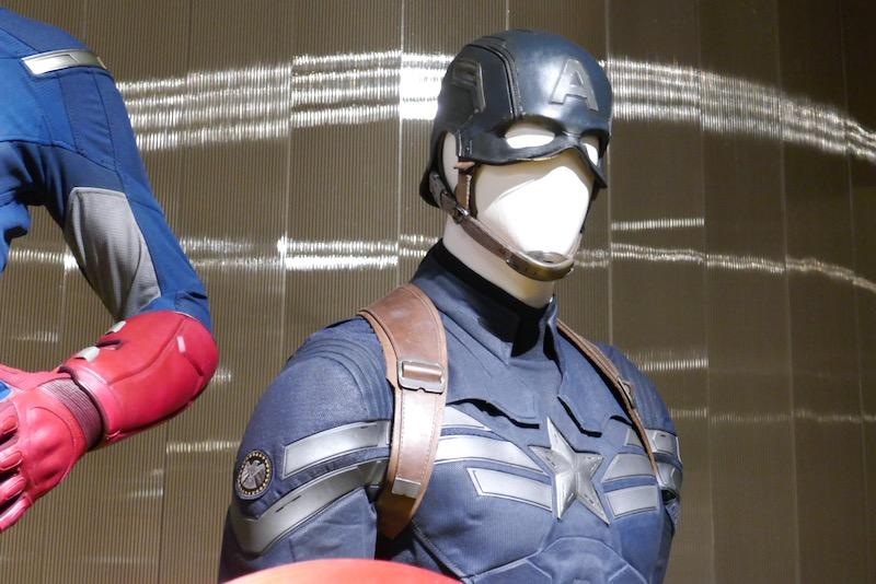 Captain America Winter Soldier movie costume helmet