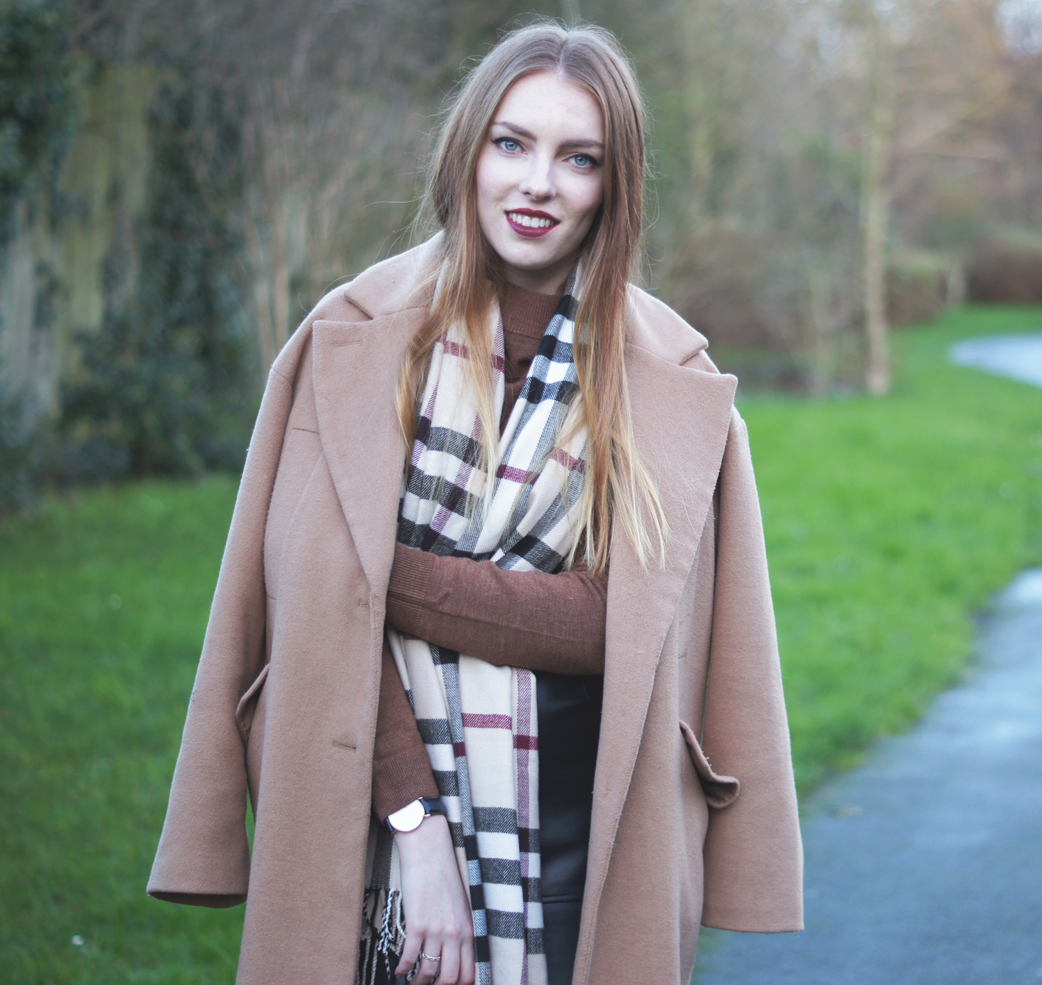 burberry dupe scarf