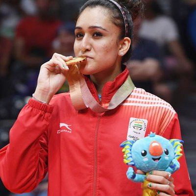 Manika Batra age, height, table tennis, tt player, related to which game, Boyfriend, How Old, Weight, Net Worth, Wiki, Family, Bio