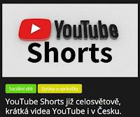 YouTube Shorts již celosvětově, krátká videa YouTube i v Česku. - AzaNoviny