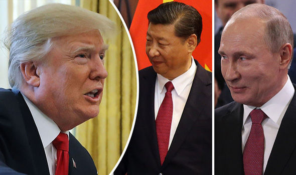 Trump signed  a new nuclear agreement with China and Russia