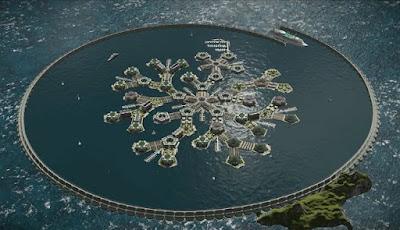 Negara Terapung Akan Berdiri di Samudra Pasifik Tahun 2020