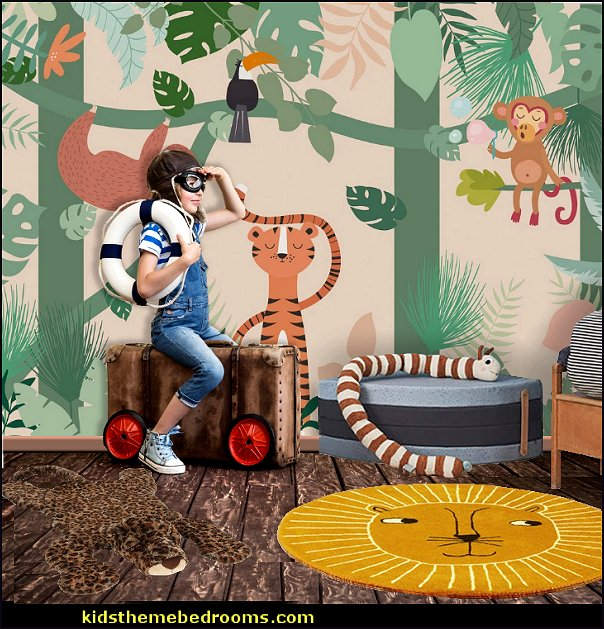 jungle kids bedroom decor jungle bedroom decor toddler jungle playroom decorating jungle mural