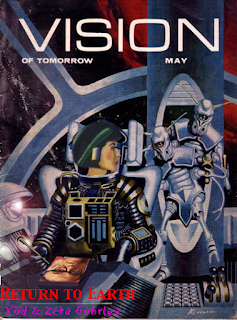 "Magazine cover: ""Return to Earth"" by Yōd and Zeta Gohrlay"