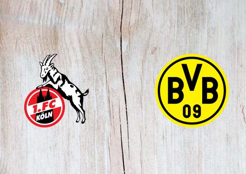 Koln vs Borussia Dortmund Full Match & Highlights 23 August 2019