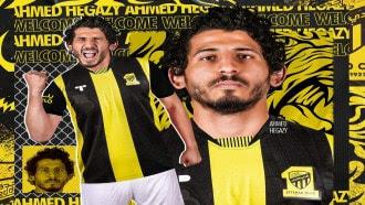 صحيفة سعودية تحتفل بتألق أحمد حجازى ويمنحه لقب