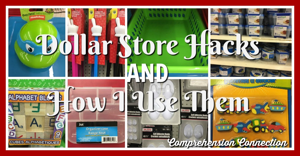 The Dollar Store offers teachers an inexpensive way to make special things for the classroom. This post includes one teacher's favorite finds and how to use them.