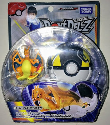 Charizard figure matte color Takara Tomy PokeDel-Z