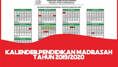 Download Kalender Pendidikan Tahun Ajaran 2019/2020