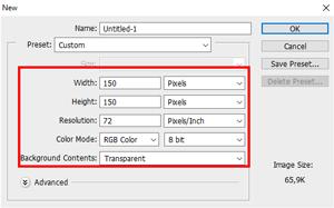 Cara Membuat Pola Custom Shape di photoshop