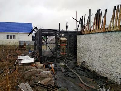 6 мая 2021 года в 11:44 произошел пожар деревне Брусяны