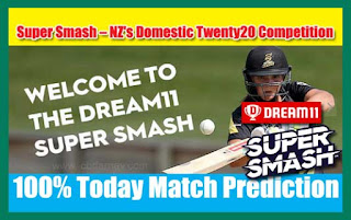 Who will win Today Super Smash T20, 11th Match CTB vs CD - Cricfrog
