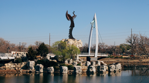 Keeper of the Plains Wichita Kansas