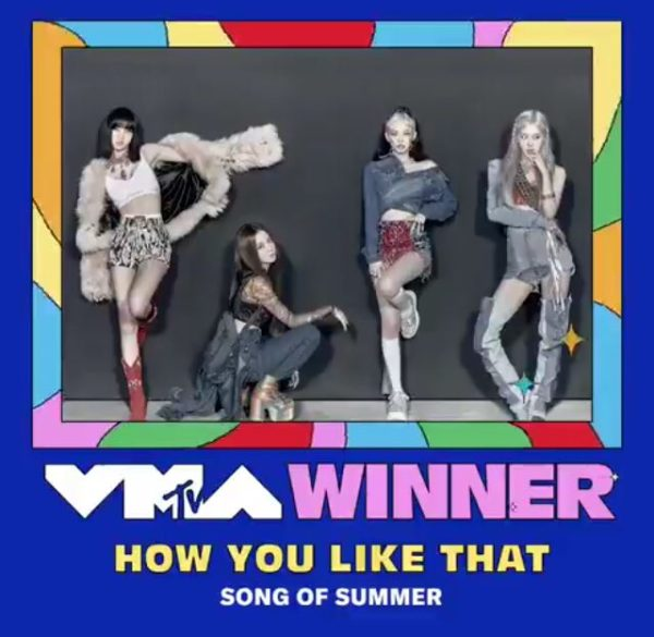 BLACKPINK's 'How You Like That' Chosen as 'Song of Summer' at The '2020 MTV Video Music Awards'