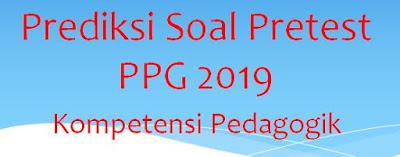 Sukses Test Akademik PPG 2019 : Prediksi Soal Kompetensi  Pedagogik