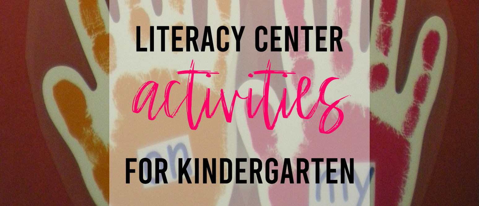 Spring themed Kindergarten literacy centers and activities