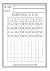20 ATIVIDADES COM NUMERAIS (números) PRONTAS PARA IMPRIMIR