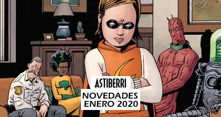 Astiberri: Novedades Enero 2020