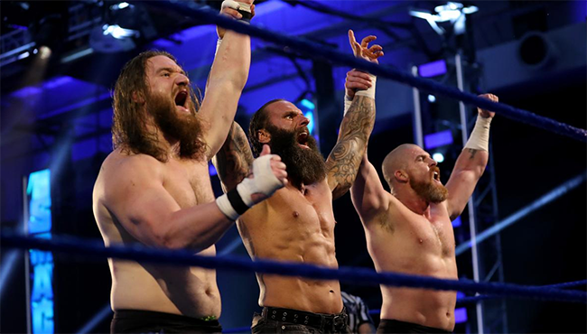 The Forgotten Sons on WWE SmackDown Live