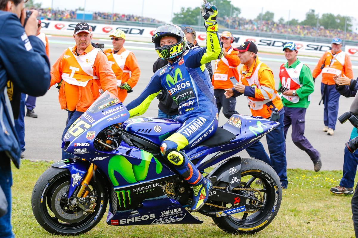 Rossi Menangi MotoGP Assen Belanda